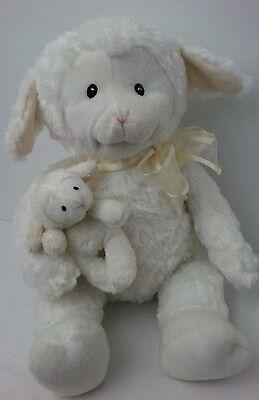 "Baby Gund Nursery Time Lamb Animated Talking Moves 5 Rhymes 15"" Plush Stuffed"