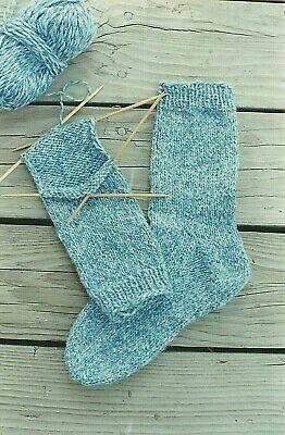 Beginner Socks Knitting Pure & Simple Instruction Pattern #9728 Easy -