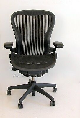 Herman Miller Aeron Mesh Ergonomic Office Task Chair Sz B - Medium 9