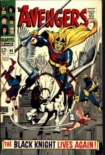 Avengers #48 Silver Age Marvel 7.0