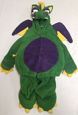 Old Navy Dragon Halloween Costume (Old Navy Green Dragon Halloween Costume Toddler Boys Girls 2 Piece 2T -)