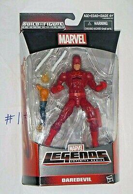 """MARVEL LEGENDS DAREDEVIL 6"""" SPIDER-MAN SERIES BAF HOBGOBLIN DAREDEVIL NEW/MIB"""