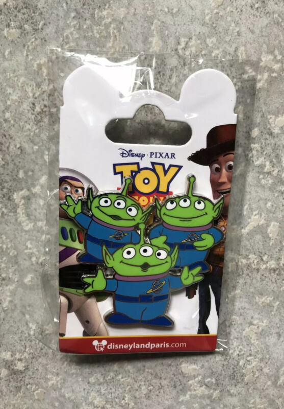 Disney DLP DLRP Disneyland Paris Toy Story 4 Little Green Men Aliens Pin