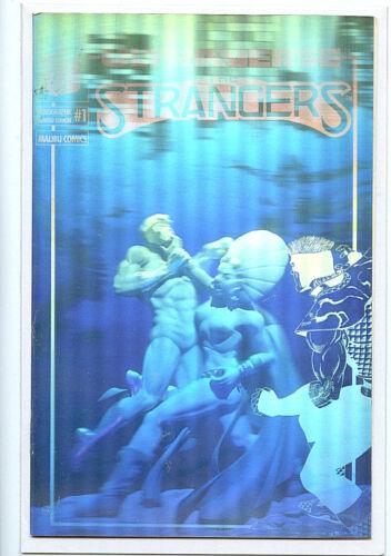 Ultraverse Strangers #1 Silver Hologram nm copy New 1993 Malibu Comics H34/F5