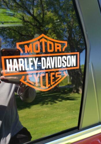 HARLEY DAVIDSON DECAL STICKER - FREE SHIPPING - MOTORCYCLE