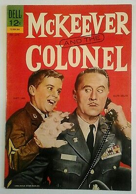 MCKEEVER AND THE COLONEL   # 1 VERY FINE  1963  FILE COPY