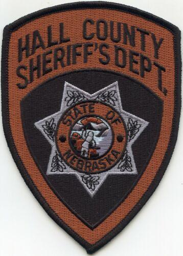 HALL COUNTY NEBRASKA NE SHERIFF POLICE PATCH