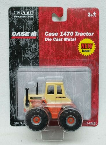 Case 1470 Traction King 4wd Tractor By Ertl 1/64 Scale