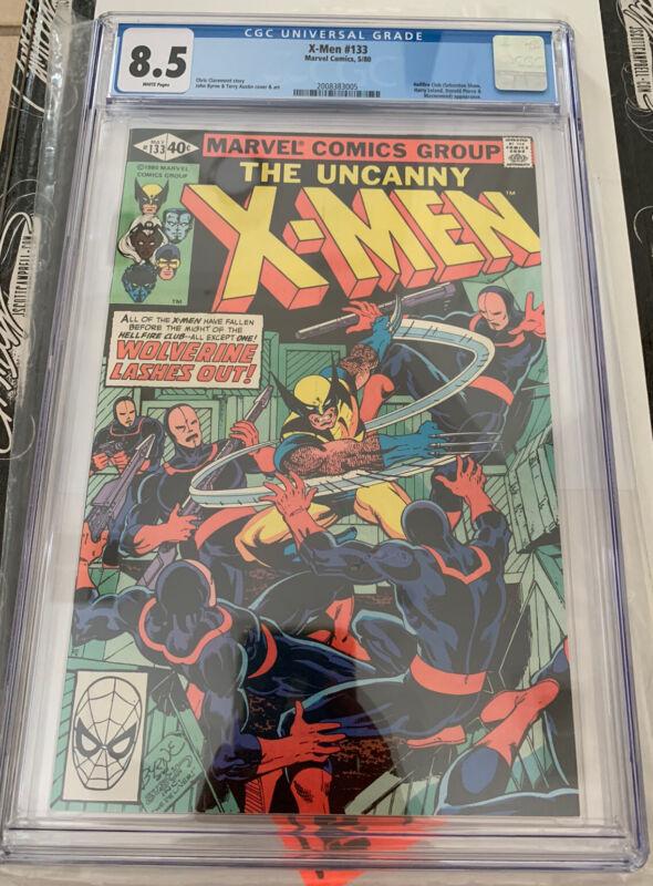 Uncanny X-Men #133 CGC 8.5 Wolverine Fights Alone!