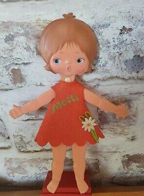 Vintage Sebino METTI Flatsy Doll Kitsch 1960s