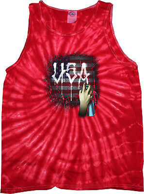 Buy Cool Shirts USA Spray Paint Tie Dye Tank Top (Spray Tie Dye)