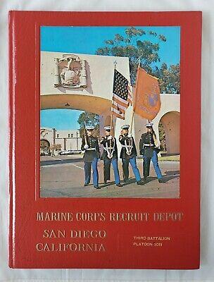 Marine Corps Recruit Depot Book San Diego CA 1983 Third Battalion Platoon 3081