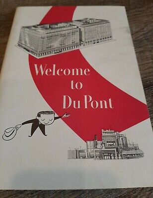 Vintage Welcome To Du Pont Employee Intro to Company Handbook Guide '68 DuPont