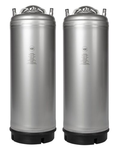 2 Pack NEW 5 Gallon Ball Lock Kegs - Homebrew & Cold Brew Coffee - Free Shipping
