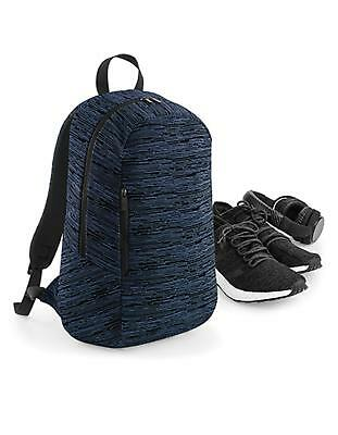 Duo Knit Backpack 31 x 50 x 16 cm | BagBase Knit Pack