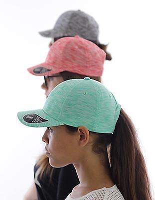 Mash-Up - Baseball Cap / Schirm-Unterseite in Kontrastfarbe   Atlantis