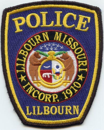 LILBOURN MISSOURI MO POLICE PATCH