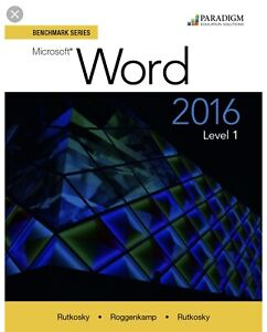 Word 2016 Level one