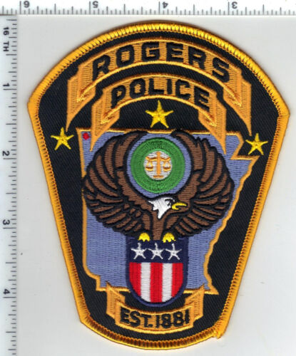 Rogers Police (Arkansas) Shoulder Patch - current