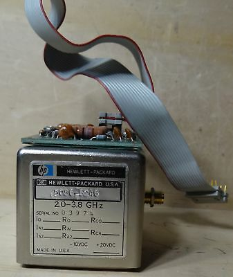 Hp Model 5086-6246 Yig Oscillator 2.0-3.8 Ghz