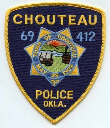 CHOUTEAU OKLAHOMA OK POLICE PATCH