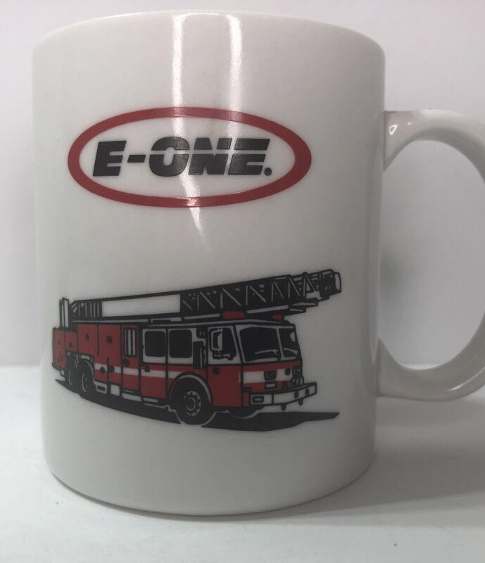 E-ONE Fire Truck Engine Coffee Mug