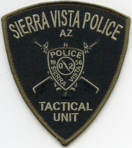 SIERRA VISTA ARIZONA AZ TACTICAL UNIT Special Weapons SWAT POLICE PATCH