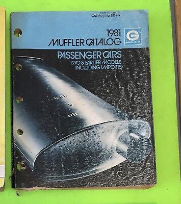 Muffler catalog, Goerugh's, 1981.    Item: 9031b