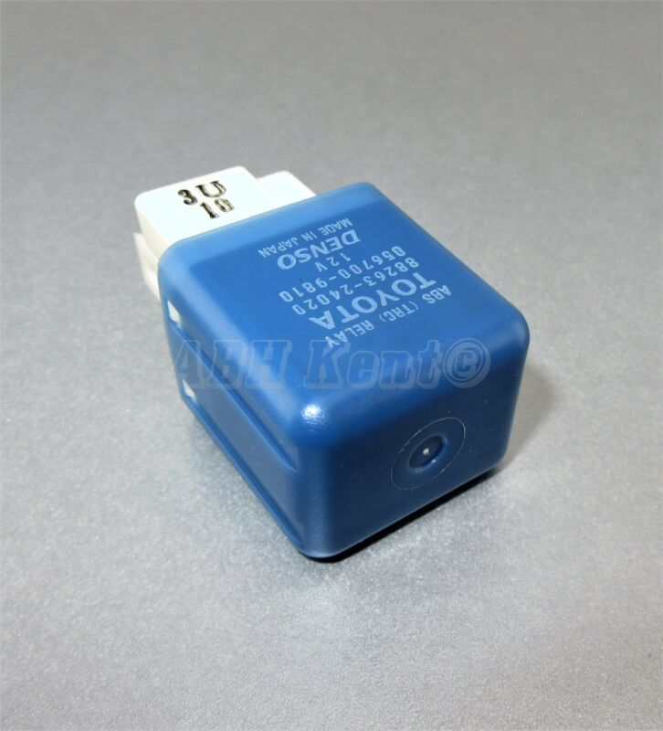 129-Toyota/ Lexus 4-Pin ABS (TRC) Blue Relay 88263-24020 Denso 056700-9810 Japan