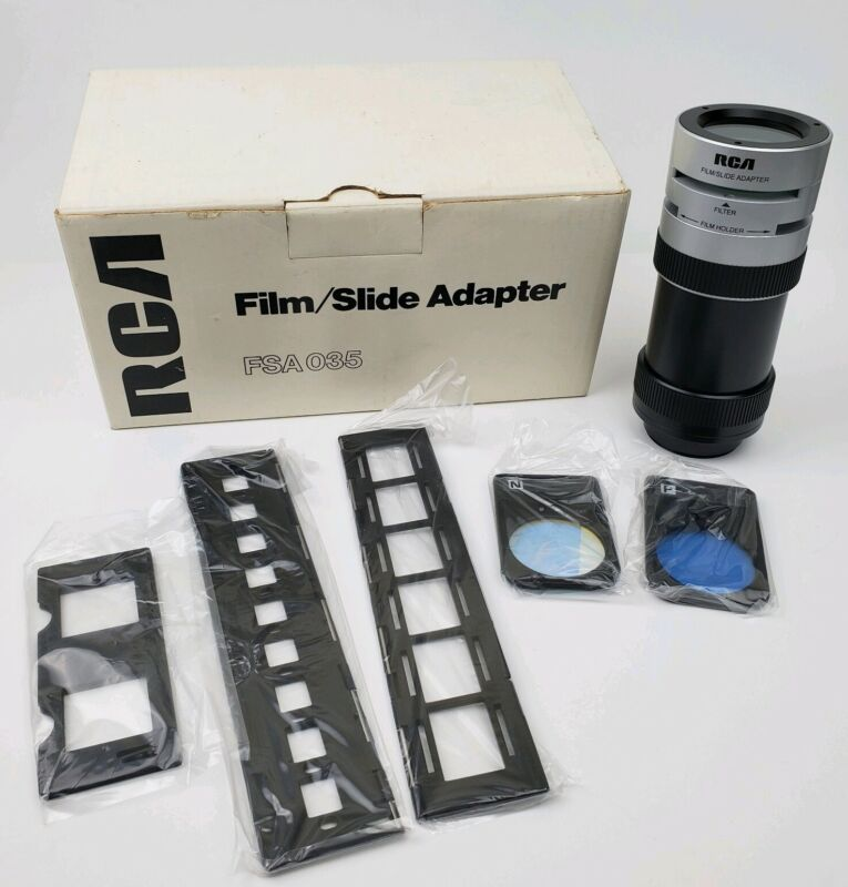 RCA Film Slide Adaptor FSA 035