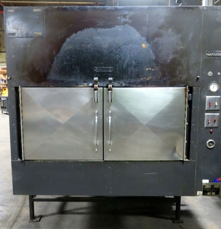 Ole Hickory Pit EL-ED/X BBQ Smoker Natural Gas Rotisserie Oven Cooker A