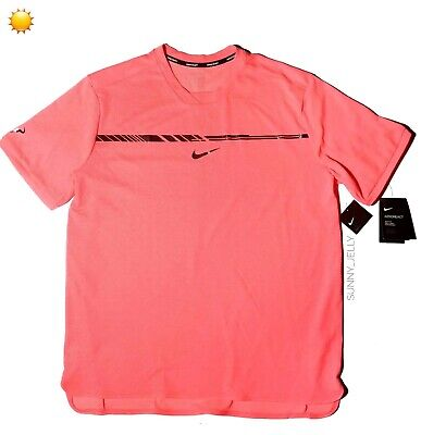 Nike Rafael Nadal US Open 2017 Challenger XL AeroReact Tennis Shirt $100 Rafa