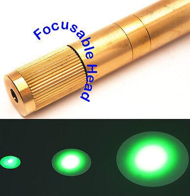 Focusable 532nm 100mw Green Laser Module3-3.7vadjustable Beam Sizegreen Laser