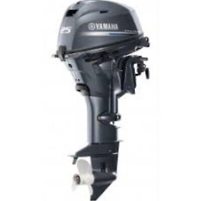 Yamaha Outboard Motor 25 H.P. F25LC
