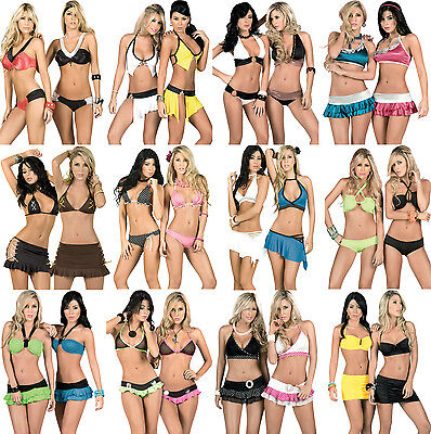 LOT 100% AUTHENTIC WHOLESALE SEXY Bikini GoGo Dancer Club RAVE LINGERIE S M L XL - Gogo Dancer Outfits