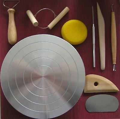 Töpferscheibe, Tischränderscheibe,  Ränderscheibe h=55mm, d=220mm töpfern,