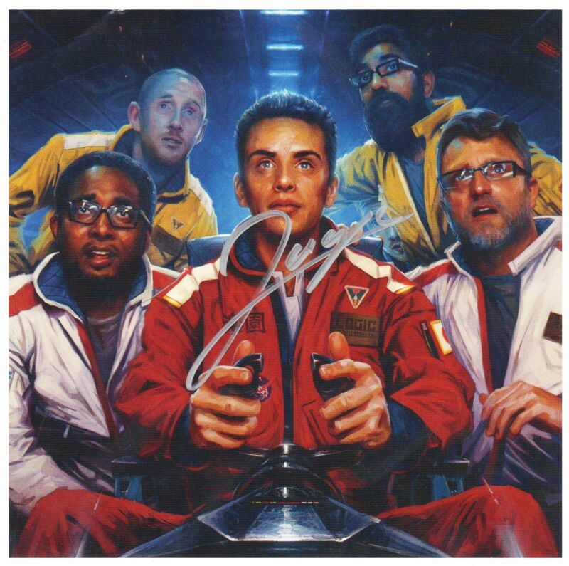 LOGIC The Incredible True Story Hand Signed Autographed Ltd Ed RARE NEW Sticker!