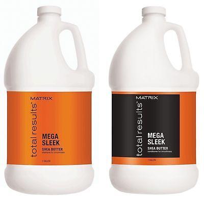 Matrix Total Results Mega Sleek Shampoo Haarspülung Gallone Duo - Haar Shampoo Gallon