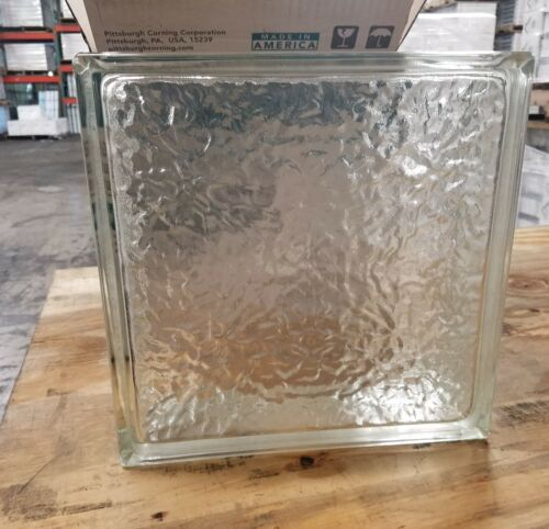 Pittsburgh Corning IceScapes Glass Blocks (1 Piece) 12 in x 12 in x 4 in