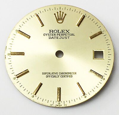 ROLEX DIAL OYSTER PERPETUAL DATEJUST SUPERLATIVE CHRONOMETER ORIGINAL 27.9MM
