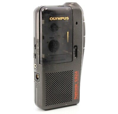 Olympus Pearlcorder S924 Handheld Microcassette Voice Recorder