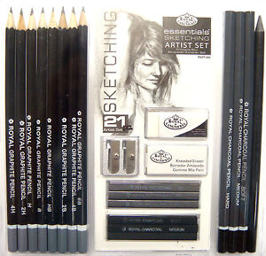 Artist Sketching Pencils Graded Pencils Drawing Pencils Graphite Pencils Set