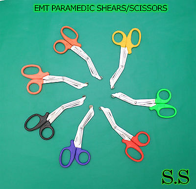 50 7.25 Paramedic Emt Trauma Shears Scissors First Aid