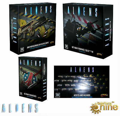 Aliens Another Glorious Day In The Corps + Expansions Kickstarter Exclusive GF9