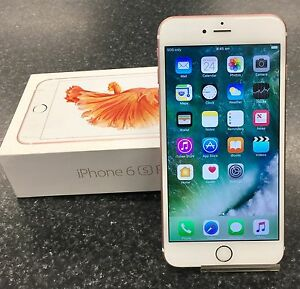 APPLE IPHONE 6S PLUS 64GB ROSE GOLD UNLOCKED Lawnton Pine Rivers Area Preview