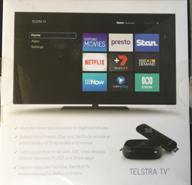 Telstra Tv- SOLD pending pickup | TV Accessories | Gumtree
