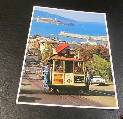Postcard<SAN FRANCISCO, CALIFORNIA>{ CABLE CAR ON HYDE STREET}