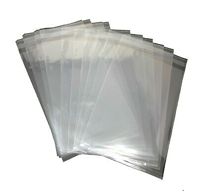 1000 Pcs 4x6 (O) Clear  Flat Cello Cellophane Poly Bags for Bakery Soap Cookie