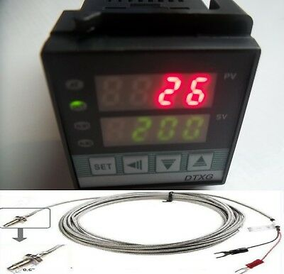 Professional Pid Temperature Controller Oven Kiln Fc Fahrenheit Display Ssr Tc