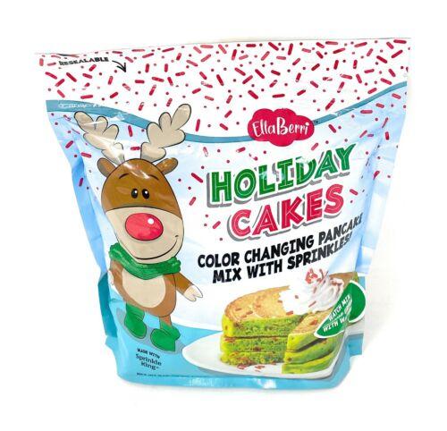 Ella Berri Holiday Cakes Color Changing Pancake Mix - 48oz